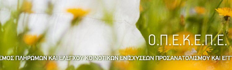 Έναρξη on-line αιτήσεων ΟΣΔΕ 2014| Εφαρμογές ΟΠΕΚΕΠΕ| Αγροσύμβουλος